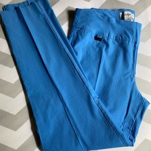 Peck & Peck Pull On Pants Blue Size 14